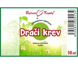 Dračí krev - bylinné kapky (tinktura) 50 ml