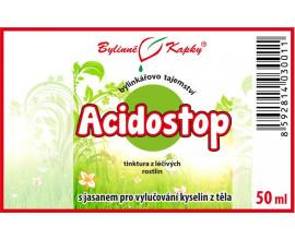 Acidostop - bylinné kapky (tinktura) 50 ml