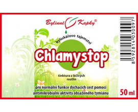 Chlamystop - bylinné kapky (tinktura) 50 ml