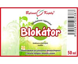 Blokátor - bylinné kapky (tinktura) 50 ml