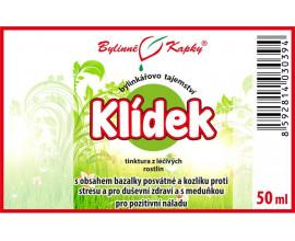 Klídek kapky (tinktura) 50 ml