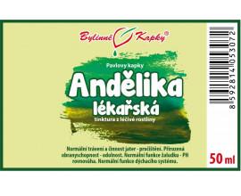 Andělika lékařská - bylinné kapky (tinktura) 50 ml