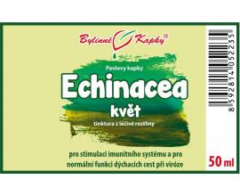 Echinacea (třapatka) květ (bylinné kapky - tinktura) 50 ml