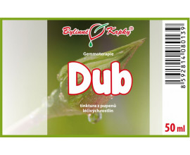 Dub - tinktura z pupenů (gemmoterapie) 50 ml