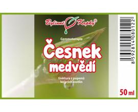 Česnek medvědí - tinktura z pupenů (gemmoterapie) 50 ml