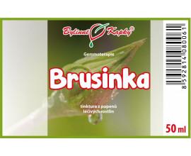 Brusinka - tinktura z pupenů (gemmoterapie) 50 ml