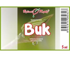 Buk - tinktura z pupenů 5 ml - gemmoterapie