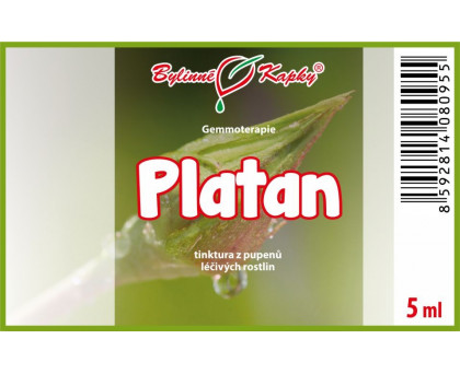 Platan 5 ml - gemmoterapie
