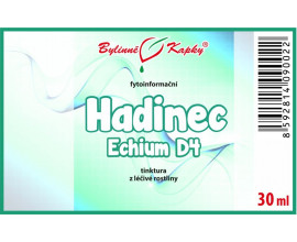 Hadinec (Echium) kvapky (tinktúra) 30 ml
