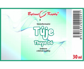 Tuje (Thuya) kvapky (tinktúra) 20 ml