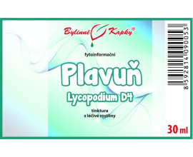 Plavúň (Lycopodium) kvapky (tinktúra) 30 ml