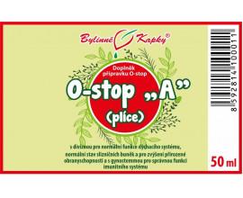 """Onko """"A"""" - plíce - bylinné kapky (tinktura) 50 ml"""