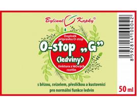 "Onko ""G"" - ledviny - bylinné kapky (tinktura) 50 ml"