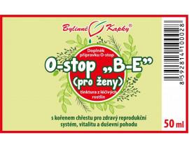 """Onko """"B-E"""" - ženské orgány - bylinné kapky (tinktura) 50 ml"""