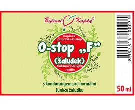 """Onko """"F"""" - žaludek - bylinné kapky (tinktura) 50 ml"""