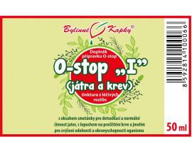 "Onko ""I"" - játra - bylinné kapky (tinktura) 50 ml"