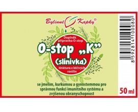 """Onko """"K"""" - slinivka - bylinné kapky (tinktura) 50 ml"""
