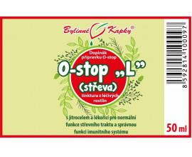 """Onko """"L"""" - střeva - bylinné kapky (tinktura) 50 ml"""