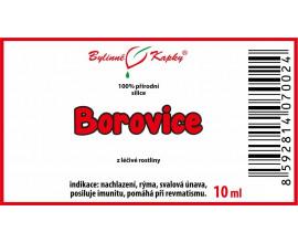 Borovice 100% přírodní silice - esenciální (éterický) olej 10 ml