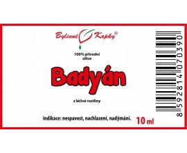 Badyán 100% přírodní silice - esenciální (éterický) olej 10 ml
