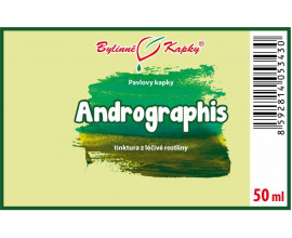 Andrographis - bylinné kapky (tinktura) 50 ml