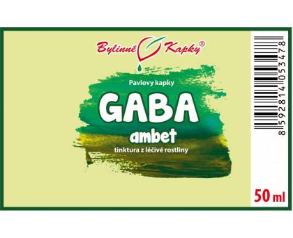 GABA ambet kvapky (tinktúra) 50 ml