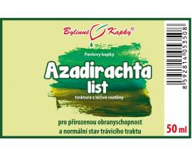 Azadirachta list (Nimba, Neem) - bylinné kapky (tinktura) 50 ml