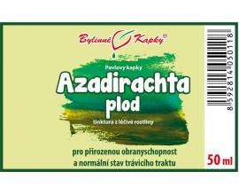 Azadirachta plod (Nimba, Neem) kapky (tinktura) 50 ml