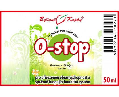 O - stop kapky (tinktura) 50 ml