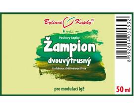 Žampion dvouvýtrusný - bylinné kapky (tinktura) 50 ml