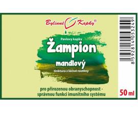 Žampion mandlový (brazilský) - bylinné kapky (tinktura) 50 ml