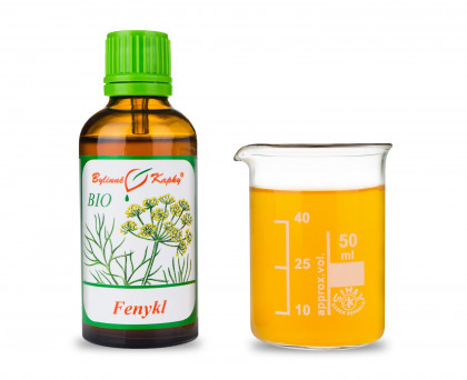 Fenykl BIO kapky  (tinktura) 50 ml
