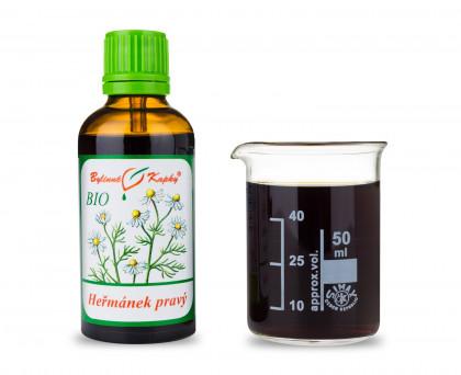 Heřmánek pravý BIO kapky (tinktura) 50 ml
