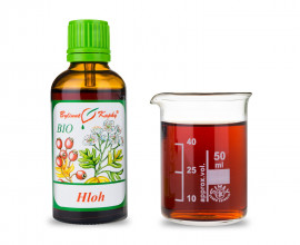 Hloh list + květ BIO kapky (tinktura) 50 ml