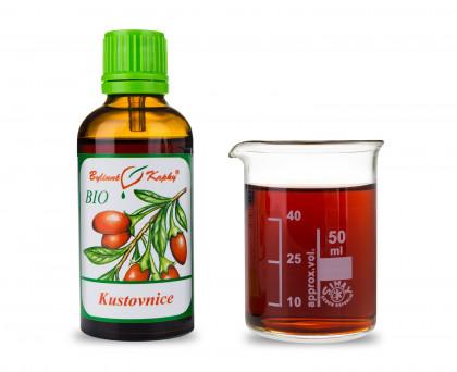 Kustovnice (goji) BIO kapky (tinktura) 50 ml