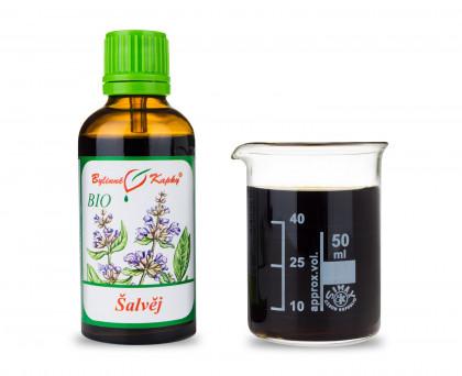 Šalvěj BIO kapky (tinktura) 50 ml