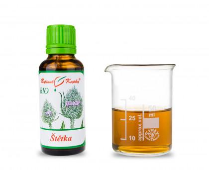 Štětka soukenická BIO kapky (tinktura) 30 ml