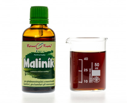 Maliník kapky (tinktura) 50 ml