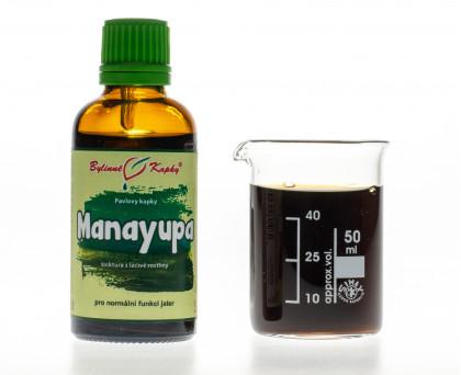 Manayupa - bylinné kapky (tinktura) 50 ml