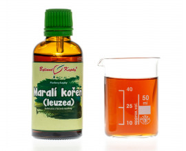 Maralí kořen (leuzea, parcha) - bylinné kapky (tinktura) 50 ml