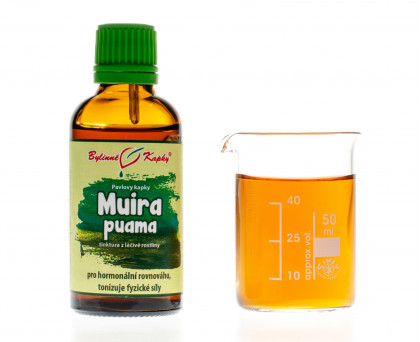 Muira puama kapky (tinktura) 50 ml