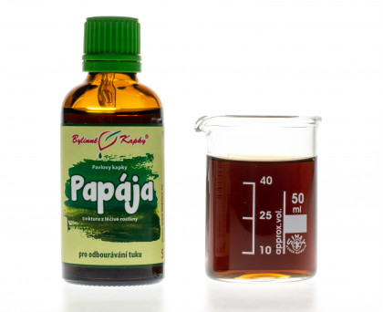 Papája (papaya) (tinktura) 50 ml