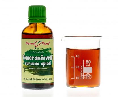 Pomerančovník curacao oplodí kapky (tinktura) 50 ml