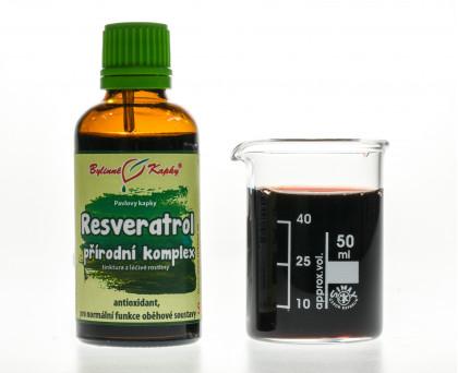 Resveratrol kapky (tinktura) 50 ml