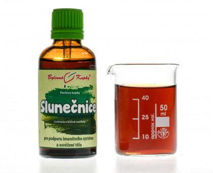 Slunečnice kapky (tinktura) 50 ml