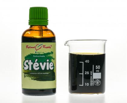 Stévie - bylinné kapky (tinktura) 50 ml
