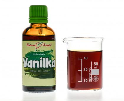 Vanilka kapky (tinktura) 50 ml
