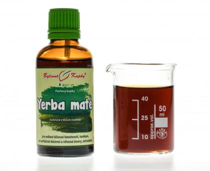 Yerba maté kapky (tinktura) 50 ml