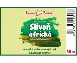 Slivoň africká - bylinné kapky (tinktura) 50 ml