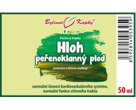 Hloh peřenoklanný plod kapky (tinktura) 50 ml